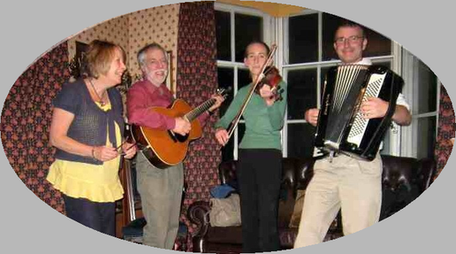 The Dark Horse Ceilidh Band are based in Harrogate, North Yorkshire